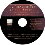 Audio CD of Keith Johnson's recitation of the Lord's Prayer in Hebrew